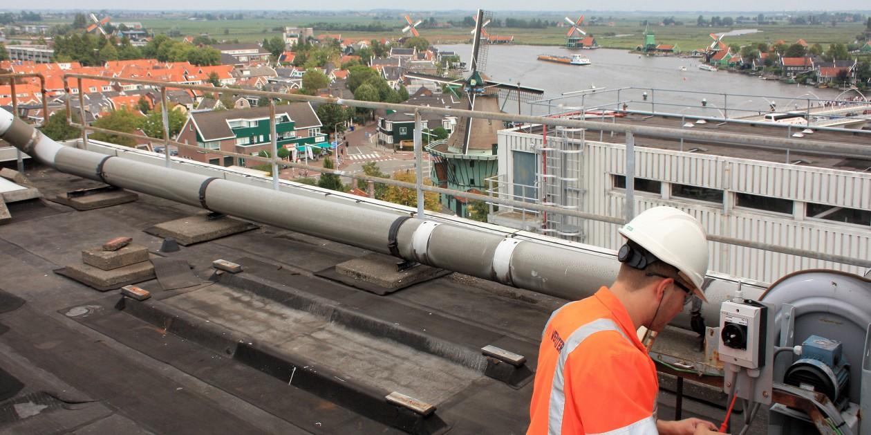 nieuwbouw HFC fabriek Zaandijk